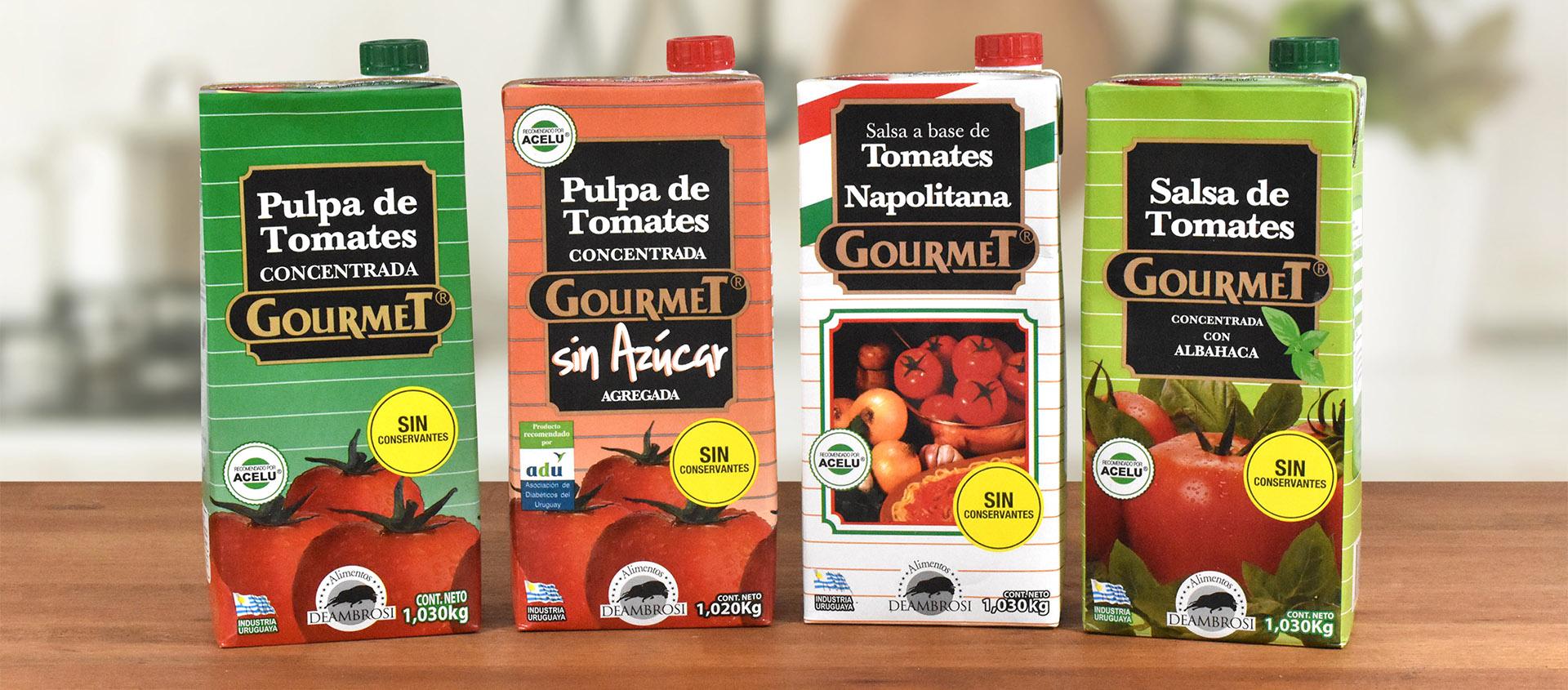 Pulpas de Tomate Gourmet
