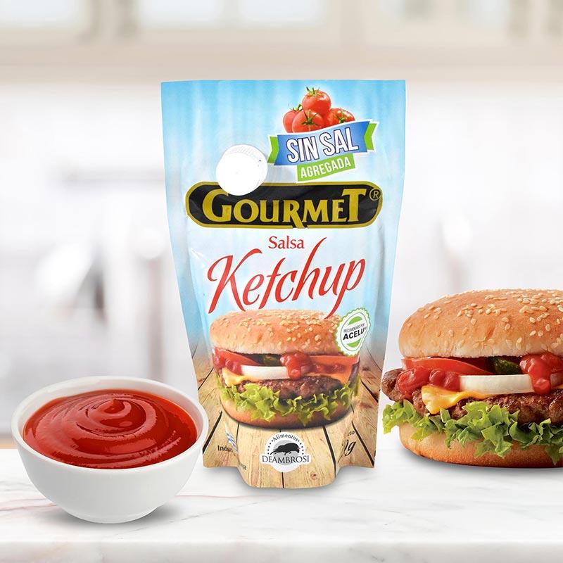 Salsa Ketchup Sin Sal