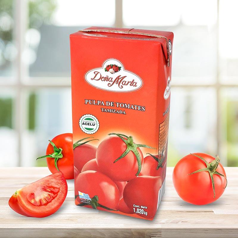 Pulpa de Tomates Tamizada Doña Marta