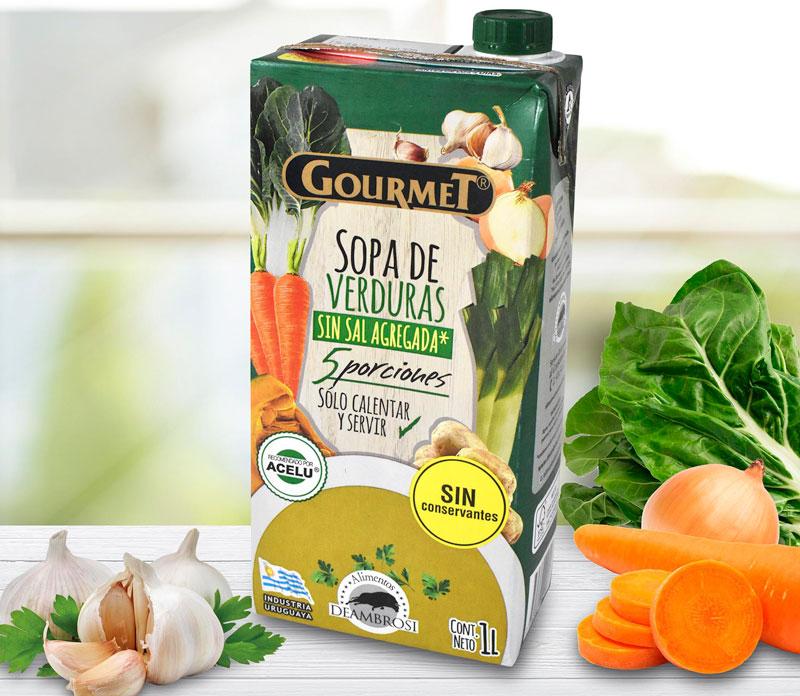 Sopa de Verduras Sin Sal