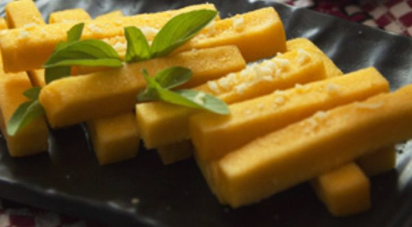 Receta Bastoncitos de polenta
