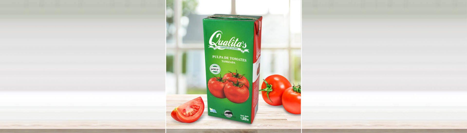 Pulpa de Tomate Qualitas