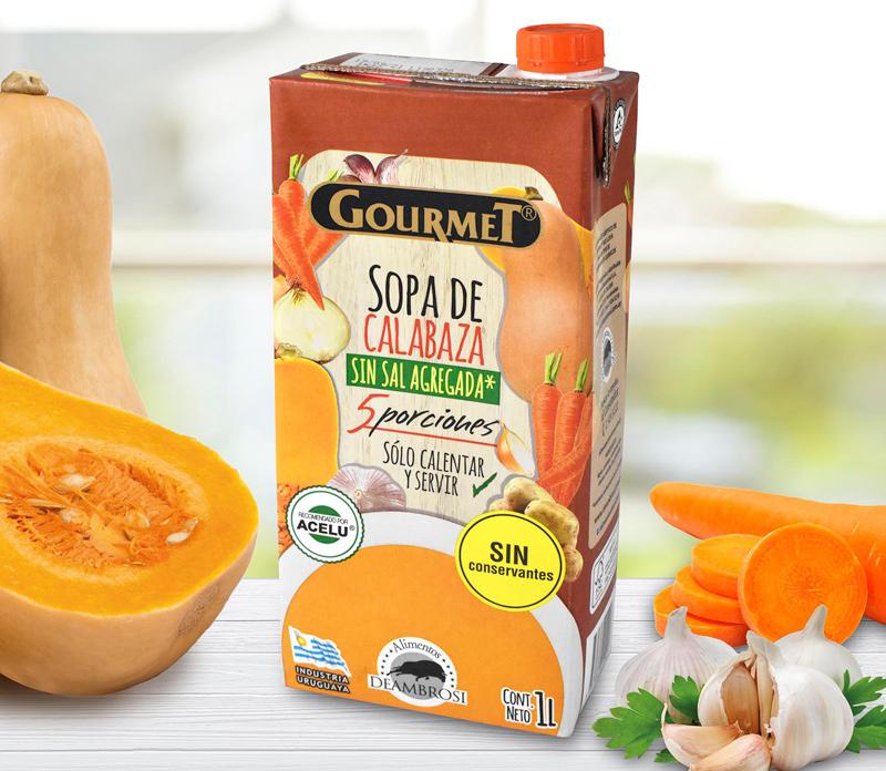 Sopa de Calabaza sin Sal